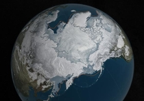 Another Global Warming Record: Arctic Sea Ice Reaches Record Low Maximum