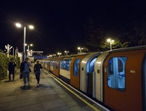 On the Tube, I saw the father I'd never met – and was happy to find that I had nothing to say to him