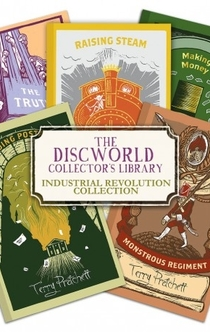 Industrial Revolution Collection | Discworld Collector's Library Books -
