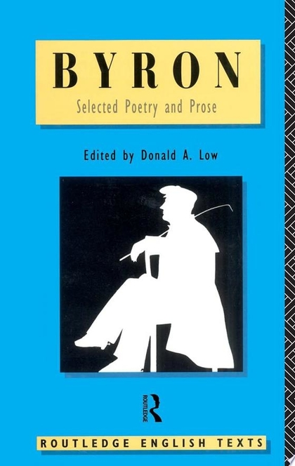 Byron: Selected Poetry and Prose - Lord Byron
