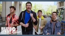 Watch Billy on the Street with THE JONAS BROTHERS!!!!! now