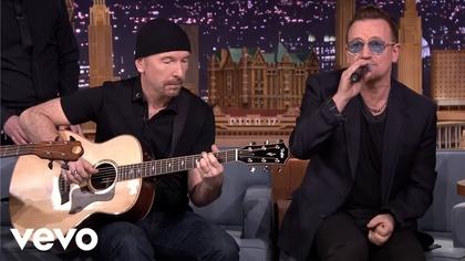Watch U2 - Ordinary Love (Live on The Tonight Show Starring Jimmy Fallon) now