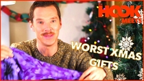 Watch Benedict Cumberbatch Teaches How to React to Bad Xmas Gifts  now