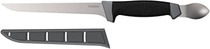 """Kershaw 7"""" Boning Knife with Spoon (1243SHX); 420J2 Stainless Steel Blade, K-Texture Grip for Secure Hold in Marine Conditions, Corrosion Resistant; Ideal for Fishing; 3.9 oz, 14.5 in. Total Length"""