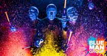 Blue Man Group Show  Las Vegas