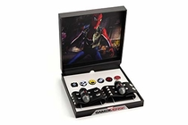 Marvel's Spider-Man Exclusive Spider-Punk Web-Shooter Bracelets & Enamel Pin Set | Includes Six Exclusive Pins & Two Faux Leather Bracelets