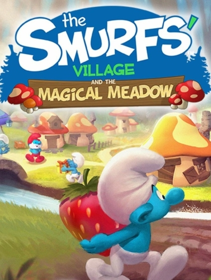 """""""The Smurfs' Village and the Magical Meadow"""" 