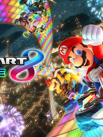 """Mario Kart 8 Deluxe for Nintendo Switch"" 
