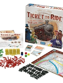 """Ticket to Ride (board game) - Wikipedia"" 