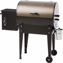 "People recommend ""Traeger TFB29LZA Junior Elite Wood Pellet Grill and Smoker - Grill, Smoke, Bake, Roast, Braise, and BBQ (Bronze)"""