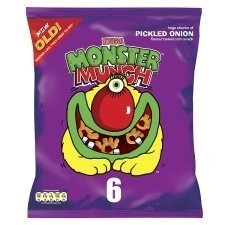 "People recommend ""Walkers Monster Munch Pickled Onion 6Pk x 4"""