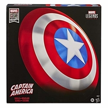 "People recommend ""Marvel Exclusive Legends Gear Classic Comic Captain America Shield Prop Replica"""