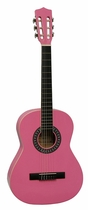 "People recommend ""Gomez 001 Pink Classical guitar """
