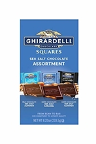 "People recommend ""Ghirardelli Sea Salt Assorted Large Squares Bag, 8.22 Ounce"""
