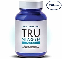 "People recommend ""TRU NIAGEN Nicotinamide Riboside - Patented NAD Booster for Cellular Repair & Energy, 150mg Vegetarian Capsules, 300mg Per Serving, 60 Day Bottle"""