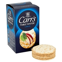 "People recommend ""Carr's Table Water Biscuits - 200g (0.44lbs)"""
