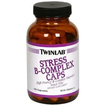 "People recommend ""Twinlab, Stress B-Complex Caps with Vitamin C, 100 Capsules"""