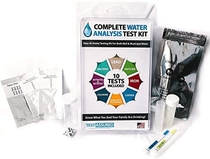 """People recommend """"Drinking Water Test Kit - 10 Minute Testing For Lead Bacteria Pesticide Iron Copper and More"""""""