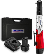 """People recommend """"ACDelco Cordless 3/8"""" Ratchet Wrench 57'-Lb of max Torque Tool Set with 2 Batteries & Charger, Carrying Case ARW1201"""""""