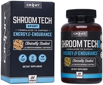 "People recommend ""Onnit Shroom Tech Sport: Clinically Studied Preworkout Supplement with Cordyceps Mushroom (84ct)"""