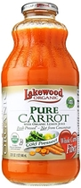 """People recommend """"Lakewood Organic Fresh Pressed Pure Carrot -- (1 X 32 FL OZ)"""""""