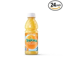 """People recommend """"Tropicana Orange Juice, 10 Ounce (Pack of 24)"""""""