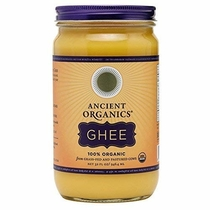 """People recommend """"Organic Original Grass-fed Ghee, Butter by ANCIENT ORGANICS, 32 oz."""""""