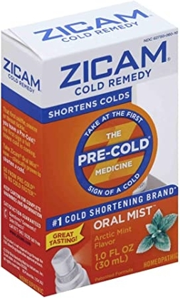 """People recommend """"Zicam Cold Remedy Arctic Mint Oral Mist"""""""
