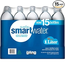 """People recommend """"Glaceau smartwater (1 L bottles, 15 pk.) : Sports Drinking Water"""""""