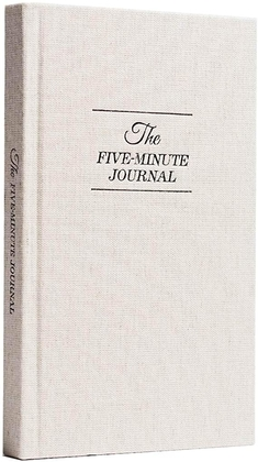 """People recommend """"The Five Minute Journal"""""""
