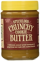"""People recommend """"Trader Joe's Speculoos Crunchy Cookie Butter 14.1 ounces """""""
