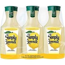 "People recommend ""Simply Lemonade, 3 pk./52 oz.. : Grocery & Gourmet Food"""
