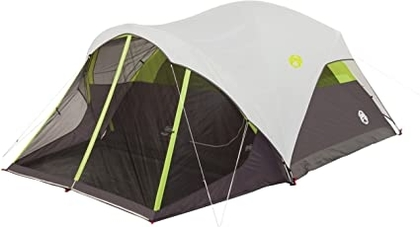 """People recommend """"Coleman Steel Creek Fast Pitch Dome Tent with Screen Room, 6-Person """""""