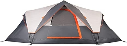 """People recommend """"Mobihome 6 Person Tent Family Camping Quick Setup, Instant Extended Pop Up Dome Tents Outdoor, with Water-Resistant Rainfly and Mesh Roofs & Door & Windows - 13.5' x 7'"""""""