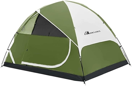 """People recommend """"MOON LENCE Camping Tent 2/4/6 Person Family Tent Double Layer Outdoor Tent Waterproof Windproof Anti-UV"""""""
