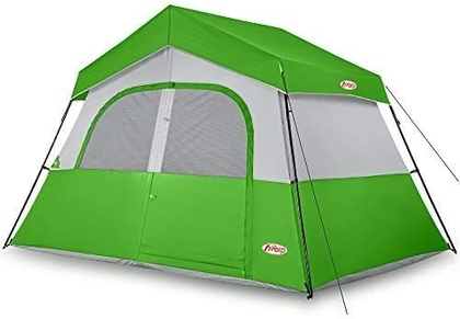 "People recommend ""MKeep Camping Tent - 6 Person Camping Tent, Professional Waterproof & Windproof with Rainfly, Double Layer, Advanced Venting Design, Easy Setup & Portable with Carry Bag for Hiking """
