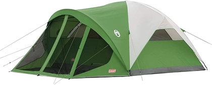 """People recommend """"Coleman 6-Person Dome Tent with Screen Room   Evanston Camping Tent with Screened-In Porch"""""""