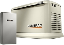 "People recommend ""Generac 7043 Home Standby Generator 22kW/19.5kW Air Cooled with Whole House 200 Amp Transfer Switch, Aluminum """
