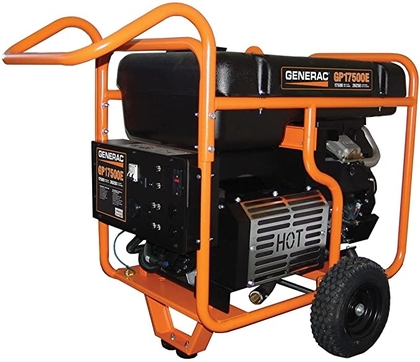 "People recommend ""Generac 5735 GP17500E 17500 Running Watts/26250 Starting Watts Electric Start Gas Powered Portable Generator"""