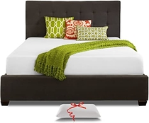 """People recommend """"Live and Sleep Queen Size Memory Foam Mattress, 10-Inch Cool Bed in a Box, Medium Firm, Certipur Certified + Premium Foam Pillow"""""""