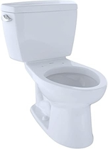 """People recommend """"Toto CST744SF.10#01 CST744SF.10No.01 Drake Two-Piece Toilet, 1.6-GPF Cotton """""""