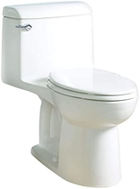 """People recommend """"American Standard 2004314.020 Champion 4 Elongated One-Piece 1.6 GPF with Toilet Seat, Normal Height, White"""""""