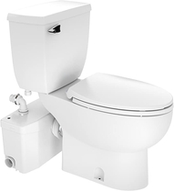 """People recommend """"Saniflo SaniPLUS: Macerating Upflush Toilet Kit (with Elongated Bowl + Extension) - Two Piece Toilets"""""""