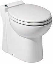 "People recommend ""Saniflo 023 Sanicompact Self-Contained Toilet - Sani Flush Ventless Toilet"""