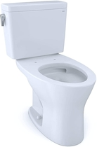 """People recommend """"TOTO CST746CSMG#01 Drake Two-Piece Elongated Dual Flush 1.6 and 0.8 GPF DYNAMAX TORNADO FLUSH Toilet with CEFIONTECT, Cotton White """""""