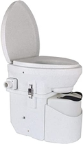 """People recommend """"Nature's Head Self Contained Composting Toilet with Close Quarters Spider Handle Design - Incinerating Toilet"""""""