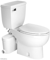"""People recommend """"Saniflo SaniAccess3 Macerator Pump with Elongated Toilet"""""""