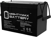 "People recommend ""Mighty Max Battery 12V 100Ah Battery for Minn Kota Trolling Motor Power Center Brand Product"""