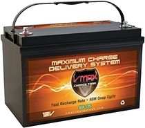 "People recommend ""Мmaxtanks VMAXSLR125 AGM 12V 125Ah SLA Rechargeable Deep Cycle Battery for Use with Pv Solar Panels Smart chargers, Wind Turbines and Inverters and Backup Power (12 Volt 125Ah Group 31 AGM)"""