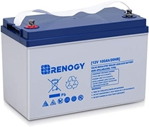 "People recommend ""Renogy Deep Cycle Hybrid Gel 12 Volt 100Ah Battery"""